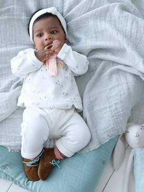 Baby-Outfits-Sweatshirt + Trouser Outfit & Headband, for Newborn Babies