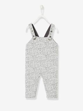 Baby-Dungarees & All-in-ones-Reversible Dungarees for Baby Boys