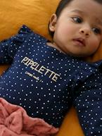 Long-Sleeved Bodysuit for Babies in Pure Cotton  - vertbaudet enfant