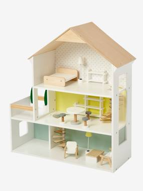 Toys-Dolls' House for Their Little Friends