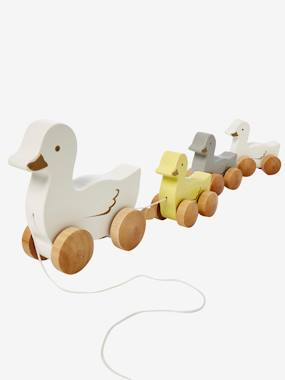 Toys-Baby's First Toys-Pull-Along Duck Family