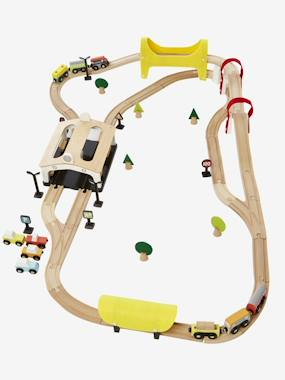 Toys-Playsets-Train Circuit, 66 Pieces