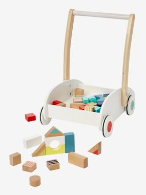 Toys-Baby's First Toys-Walker with Construction Blocks