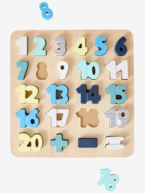 Toys-Puzzles-Numbers Puzzle