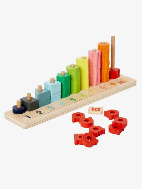 Sort & Count Game RED MEDIUM 2 COLOR/MULTICOL - vertbaudet enfant