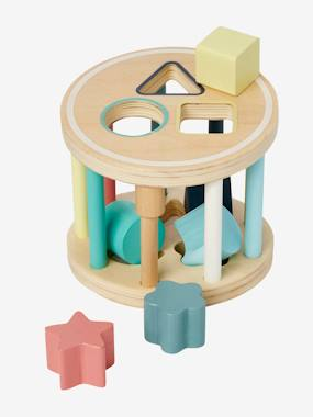 Toys-Baby's First Toys-Box with Cylindrical Shapes