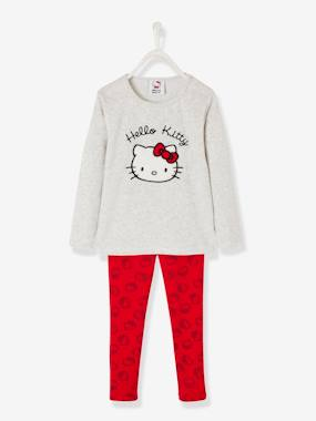 Fille-Pyjama, surpyjama-Pyjama fille Hello Kitty® en velours