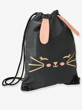 Girls-Sportswear-Sports Bag, Rabbit