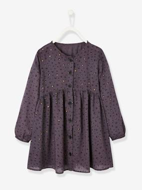 Vertbaudet Collection-Girls-Printed Dress, for Girls