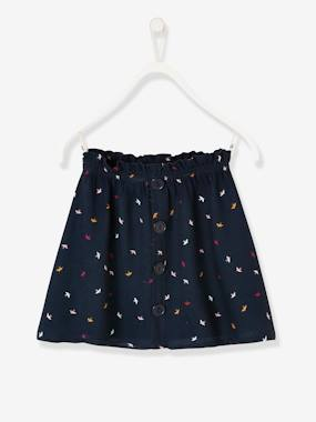Girls-Skirts-Printed Skirt, for Girls