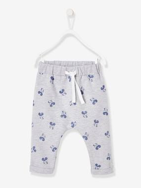 Baby-Trousers & Jeans-Mickey® Harem-Style Trousers in Fleece, for Babies
