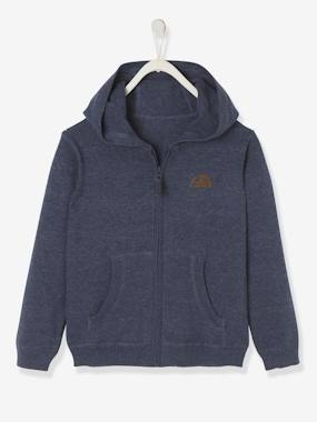 Boys-Cardigans, Jumpers & Sweatshirts-Hooded Jacket for Boys