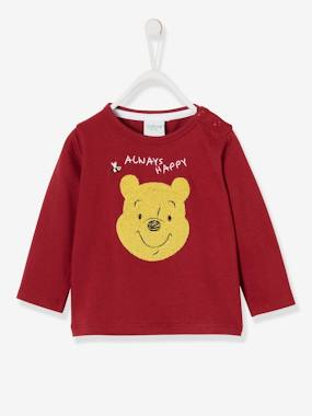 Baby-T-shirts & Roll Neck T-Shirts-Long-Sleeved Winnie the Pooh®Top, Bouclé Knit Motif, by Disney