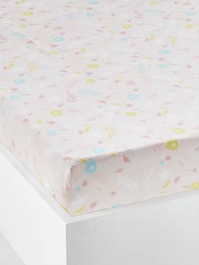 Bedding & Decor-Baby Bedding-Fitted Sheets-Fitted Sheet for Babies, PETIT CHAT