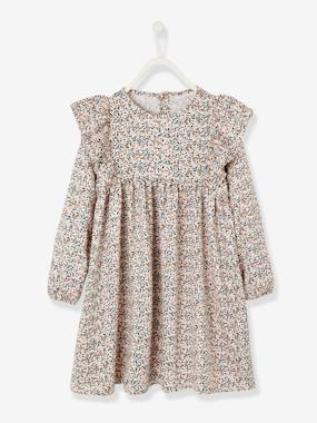 Mid season sale-Robe à volants fille