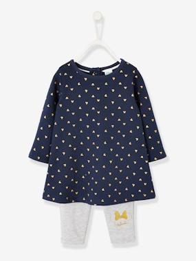 Bébé-Ensemble-Ensemble bébé robe + legging Disney Minnie®