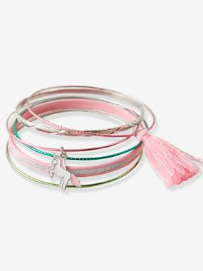 Girls-Accessories-Jewellery-Set of Metal Bracelets