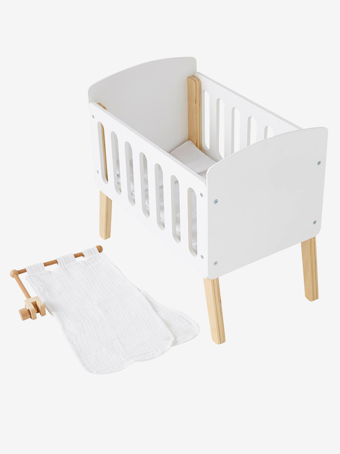 Picture of: Canopy For Doll Bed White Bright Solid Toys