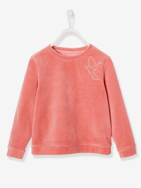 Vertbaudet Collection-Girls-Cardigans, Jumpers & Sweatshirts-SWEATSHIRT