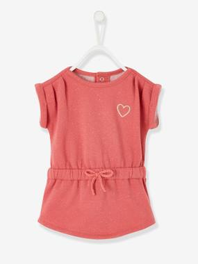 Baby-Dresses & Skirts-Fleece Dress for Baby Girls
