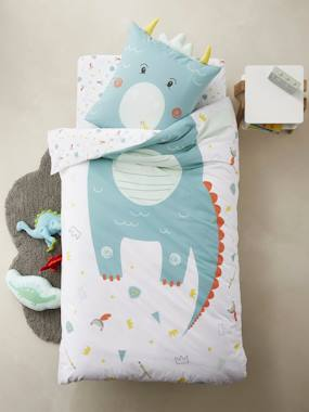 Bedding & Decor-Duvet Cover + Pillowcase, DRAGON