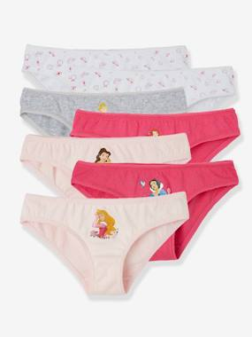 Girls-Underwear-Knickers-Pack of 7 Briefs, Disney® Princesses