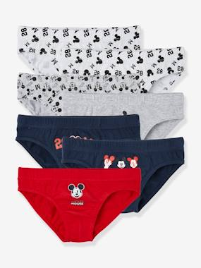 Collection Vertbaudet-Garçon-Sous-vêtement-Lot de 7 slips Mickey®