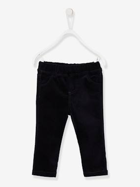 Bébé-Pantalon, jean-Tregging bébé fille en velours stretch