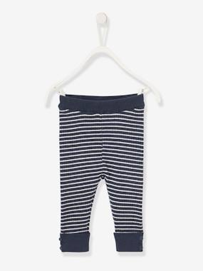 Baby-Trousers & Jeans-Knitted Leggings for Newborn Babies