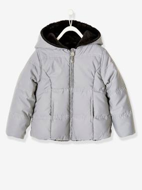Vertbaudet Collection-Girls-Reversible Jacket for Girls