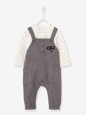 Baby-Outfits-Dungarees & Top Combo, for Baby Boys
