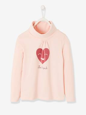 Girls-Tops-Roll Neck Tops-Polo Neck for Girls