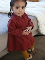 Corduroy Dress for Baby Girls  - vertbaudet enfant