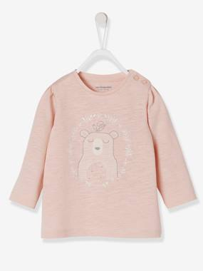 Baby-T-shirts & Roll Neck T-Shirts-Stylish Top for Baby Girls