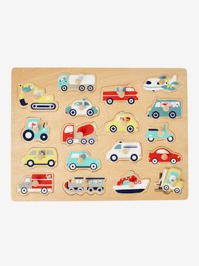 Toys-Baby's First Toys-Puzzle with Vehicles