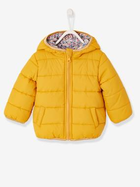 Baby-Reversible Jacket with Hood, for Baby Girls