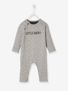Baby-Dungarees & All-in-ones-Little Baby Knitted Jumpsuit, for Newborn Babies