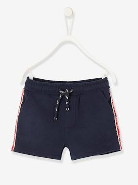 Baby-Shorts-Fleece Shorts, for Baby Boys