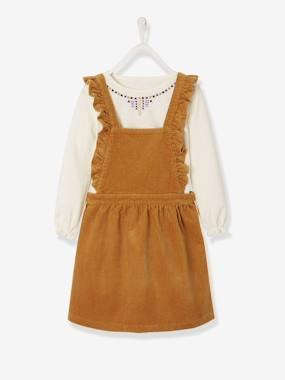 Vertbaudet Collection-Girls-ENSEMBLE ROBE