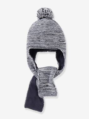 Baby-Hats & Accessories-2-in-1 Hooded Scarf, for Babies