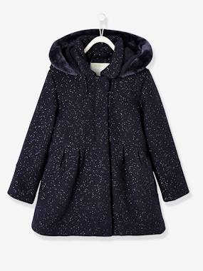 Black Friday-Girls-Woollen Coat for Girls