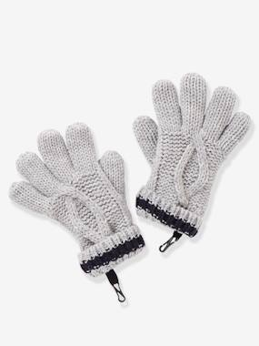 Boys-Accessories-Cable Knit Gloves, for Boys