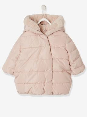 Coat & Jacket-Jacket with Asymmetric Press Stud Fastening, for Baby Girls