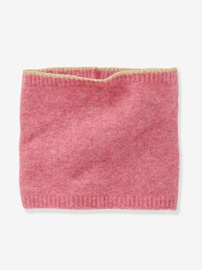 Girls-Accessories-Snood with Iridescent Trim, for Girls