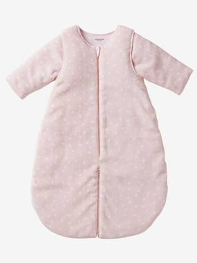 Baby outfits-Bedding & Decor-Microfibre Sleep Bag With Detachable Sleeves, For Strolling