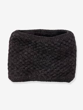Boys-Accessories-Winter Hats, Scarves & Gloves-Fancy Knit Snood, for Boys