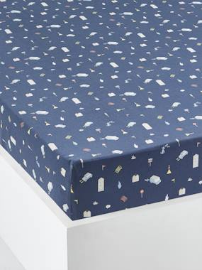 Bedding & Decor-Child's Bedding-Fitted Sheets-Children's Fitted Sheet, CITY