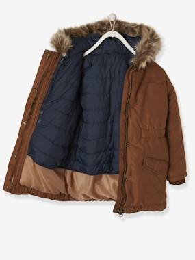 Girls-Coats & Jackets-3-in-1 Parka with Motif on the Back, for Girls