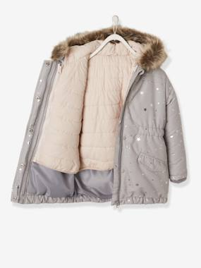 Black Friday-Girls-3-in-1 Parka with Motif on the Back, for Girls