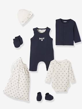 Winter collection-Baby-Newborn Baby 6-Piece Set & Bag